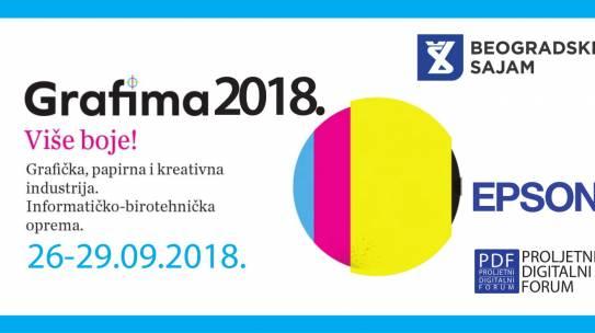 2018. godine – Međunarodni sajam grafičke, papirne i kreativne industrije