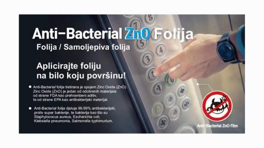 Anti-Bacterial folija