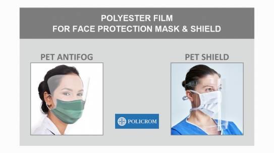 Folija za zaštitne maske i vizire