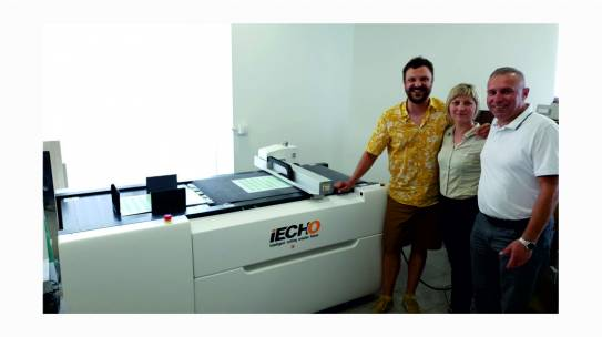Digitalni rezač iECHO PK 0705 Plus instaliran u tvrtki Argenta